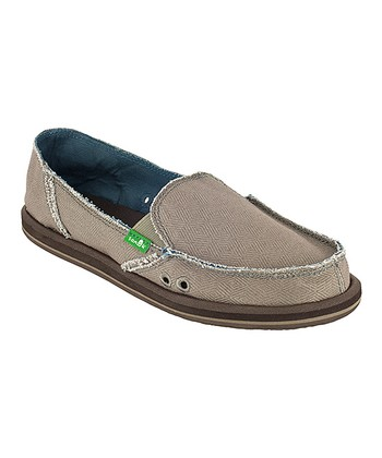 Taupe Plain Jane II Slip-On Shoe - Women