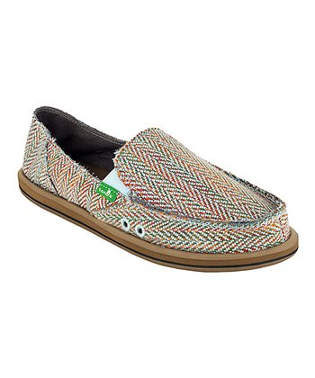 Light Blue Rio Slip-On Shoe - Women