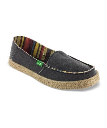 Black Bonita Slip-On Shoe - Women