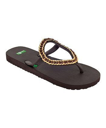 Brown Ibiza Kina Sandal - Women