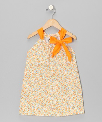 Mango Floral Swing Dress - Infant, Toddler & Girls