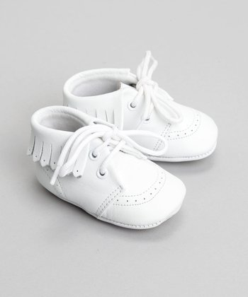 White Hi-Top Shoe