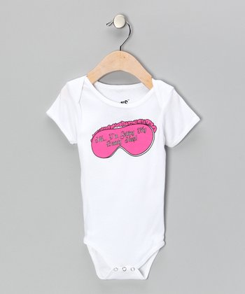 White 'Beauty Sleep' Bodysuit - Infant