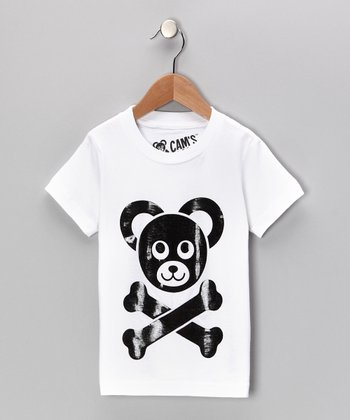 White Cam's Closet Logo Tee - Toddler & Boys