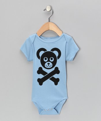Blue Cam's Logo Bodysuit - Infant