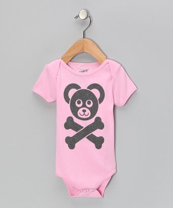 Pink Cam's Logo Bodysuit - Infant