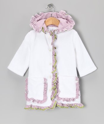 Purple Nantucket Organic Cover-Up - Infant, Toddler & Girls