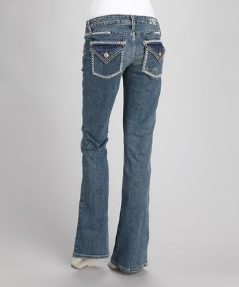 Indigo Macie Stretch Slim-Fit Bootcut Jeans - Women