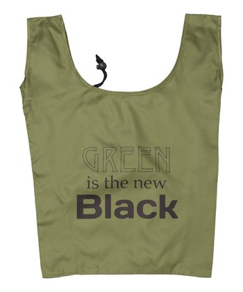 Green 'Green is the New Black' Shopper