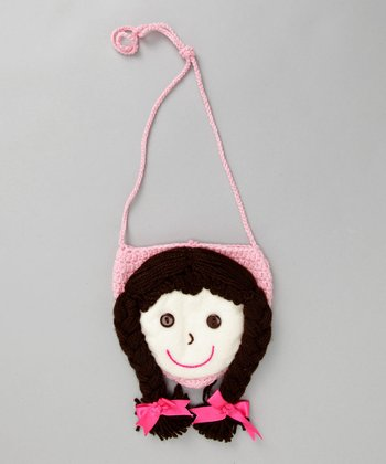Noodles Kids - Brown Braid Doll Purse