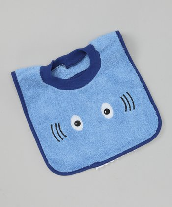 Blue Shark Bib
