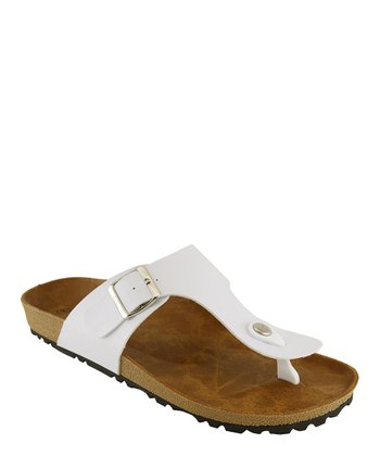 White Walking Sandal