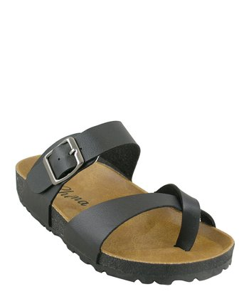 Black Classic Walking Sandal