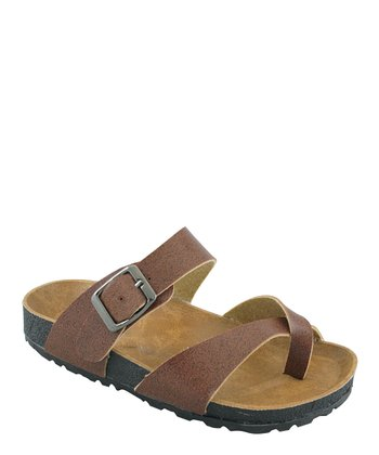 Brown Classic Walking Sandal