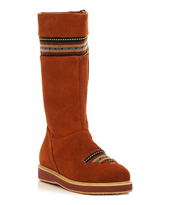 Tan Classic Short Boot - Women