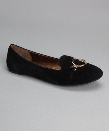 Black Suede Aries Loafer