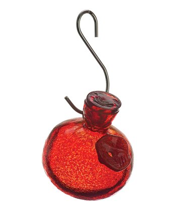 Red Kitras One-Sip Hummingbird Feeder