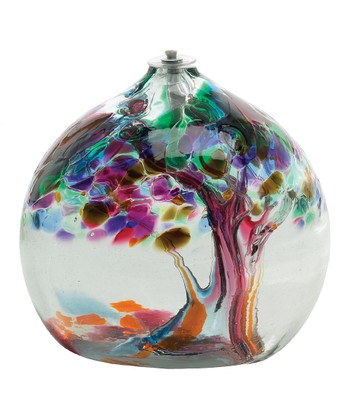 Tree of Friendship Kitras Oil Lamp