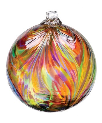 Festive Kitras Feather Ball