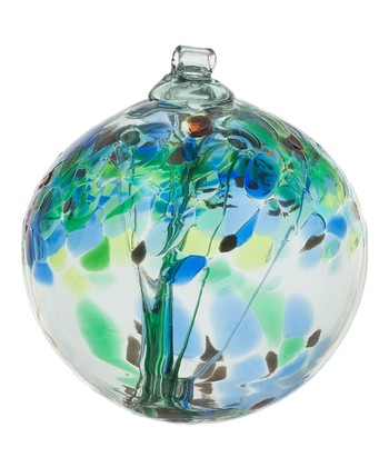 Blue 2'' Kitras Tree of Encouragement Ornament