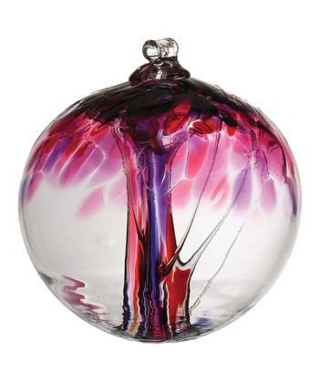 Pink 2'' Kitras Tree of Love Ornament