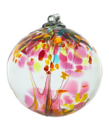 Pink 2'' Kitras Tree of Motherhood Ornament