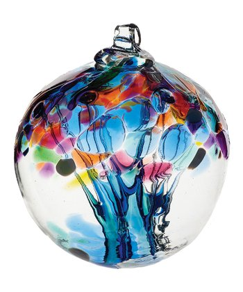 Blue 6'' Kitras Tree of Caring Ornament