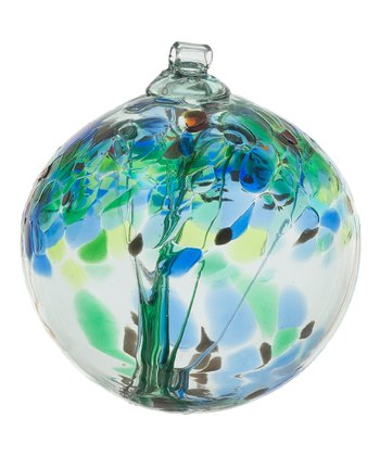 Blue 6'' Kitras Tree of Encouragement Ornament