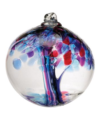 Purple 6'' Kitras Tree of Faith Ornament