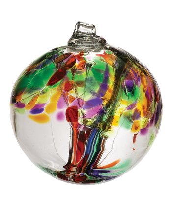 Green 6'' Kitras Tree of Life Ornament