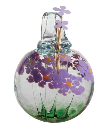 Purple Best Wishes Kitras Blossom Hanging Diffuser