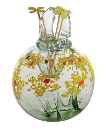 Bright Yellow Celebration Kitras Blossom Hanging Diffuser