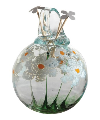 White Friendship Kitras Blossom Hanging Diffuser