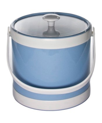 Baby Blue Springtime Ice Bucket