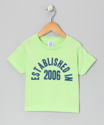 Key Lime 'Established in 2006' Tee - Boys