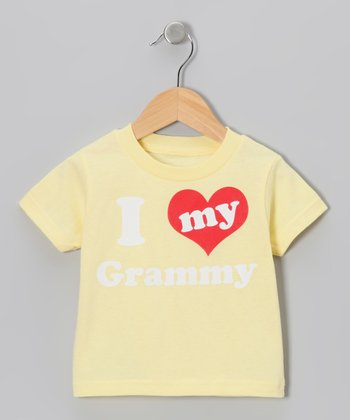 Banana 'I Love My Grammy' Tee - Toddler & Kids