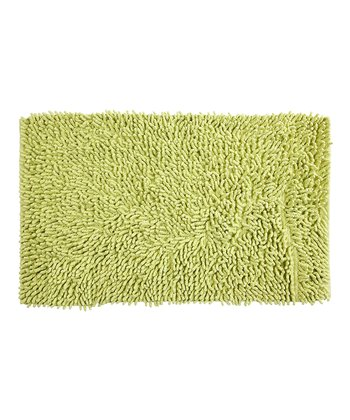 Green All That Jazz Bath Rug