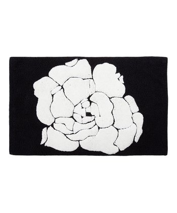 Black & White Bath Rug