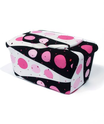 Pink Backgammon WipesWraps Baby Wipes Cover