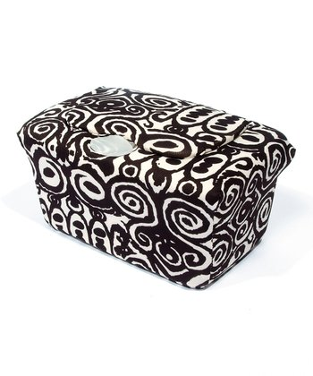 Brown Ikat Tribal WipesWraps Baby Wipes Cover