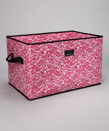 French Twist Pink Junque Trunk Storage Bin