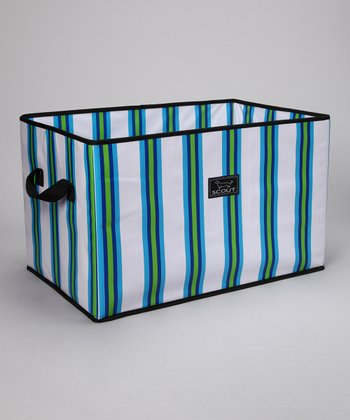 Stripes Away Junque Trunk Storage Bin