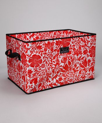 Petallica Red Junque Trunk Storage Bin