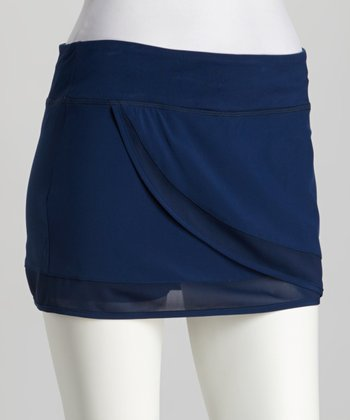 Navy Flutter Breeze Skort