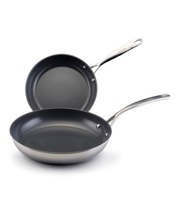 Stainless Steel Nonstick Skillet Set