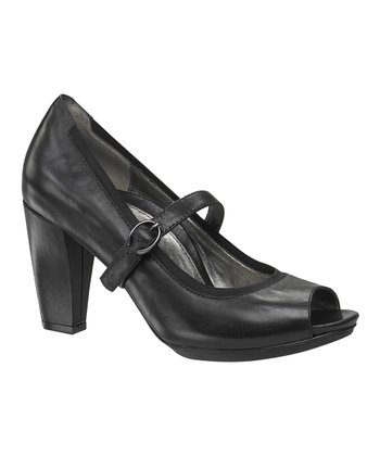 Black Tara Mary Jane Pump