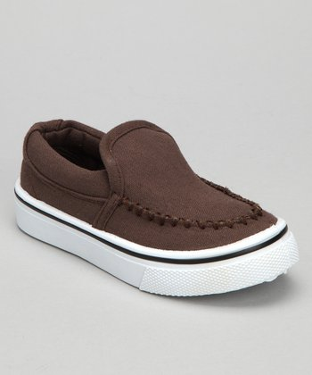 Brown Brian Slip-On Sneaker