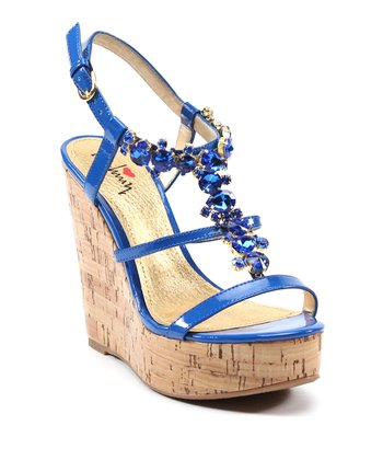 Dark Blue Fine N Dandy Wedge