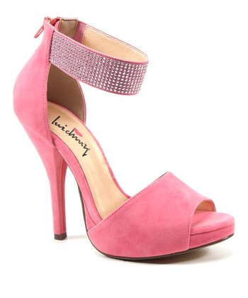 Coral Take a Walk Peep-Toe Pump