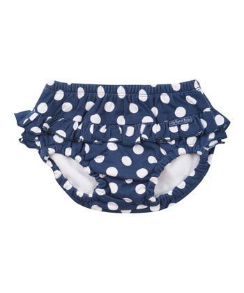 Navy Polka Dot Swim Diaper - Infant & Toddler